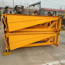 fixed loading ramp for traliers, container hydraulic electrical dock leveler